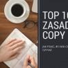 Copywriting i 10 zasad pisania artykułów, które chce się czytać