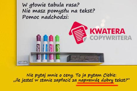 kwatera copywritera